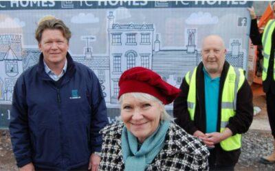 Shropshire Home Builder and Local Artist Promote £1m Development