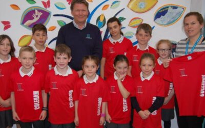 Leading Shropshire construction firm gifts Shrewsbury primary school first-ever sponsored sports kit