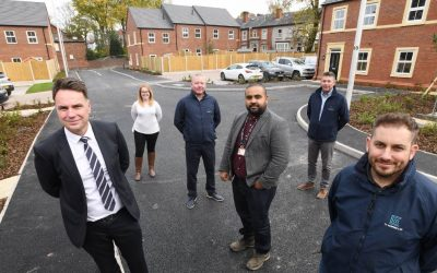 Shropshire Building Company Hands over £3.8m Development of Affordable Houses in Smethwick